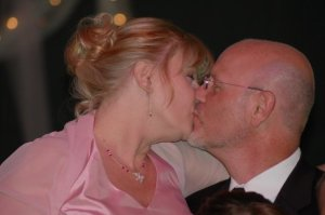 Kay and her husband and Gary and I's wedding 2008....never seen two people more in love!