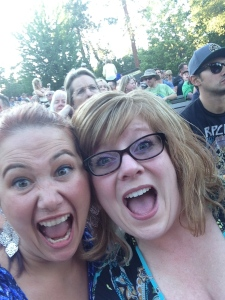 My friend Cristy and I at a reggae concert last summer! OMG!!! One of the most fun nights ever! (I am on the left).