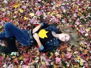 One of the pictures from the fall photo shoot I took