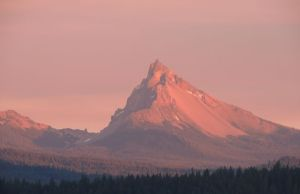 Another view of Mt. Thielson....