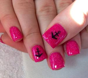 Nails with Anchors I did....